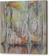 Waccamaw River Impressions Canvas Print