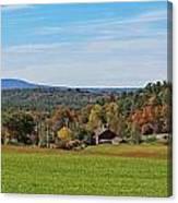 Wachusett Mountain From Harvard Ma Canvas Print
