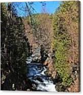Wachusett Reservoir Spillway 2 Canvas Print