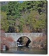 Wachusett Reservoir Spillway 6 Canvas Print