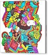 Wackadoo Canvas Print