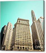 Wacker And Michigan Avenue Chicago Canvas Print