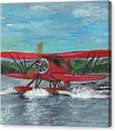 Waco Cabin Biplane Circa 1930 Canvas Print