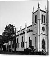 Waddell Memorial Church Founded 1874 Canvas Print
