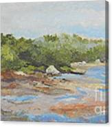 Wadsworth Cove - Elephant Rock Canvas Print