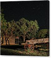 Wagon And Stars 2am 115859and115863_stacked Canvas Print