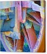 Wagon Brake Canvas Print