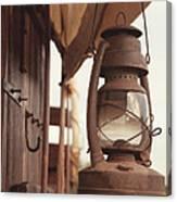 Wagon Lantern Canvas Print
