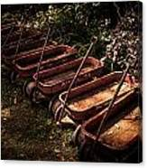 Wagons Of Yesterday Canvas Print