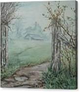 Waikato Fog. Canvas Print