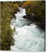 Waikato River Huka Falls Canvas Print