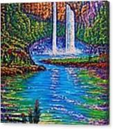 Wailua Falls II Canvas Print
