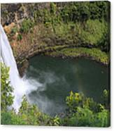 Wailua Falls Kauai Hawaii Canvas Print