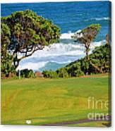 Wailua Golf Course - Hole 17 - 2 Canvas Print