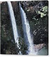 Wailua Waterfall  Canvas Print