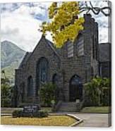 Wailuku Church Canvas Print