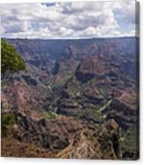 Waimea Canyon 5 - Kauai Hawaii Canvas Print