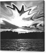 Waining Skies Canvas Print