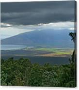 Waipoli Kula View Of West Maui From Haleakala Canvas Print