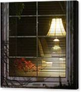 Waiting At The Window Canvas Print