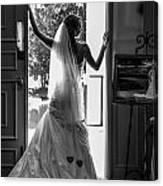 Waiting Bride Canvas Print