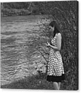 Waiting By The River Canvas Print