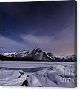 Waiting For Meteors Canvas Print