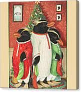 Waiting For Santa Claus Canvas Print