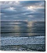 Waiting For Sunset Canvas Print
