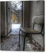 Waiting For The Cold War Canvas Print
