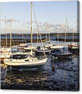 Waiting For The Tide To Turn Canvas Print