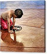 Waiting For Water Canvas Print