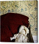 Waiting In The Crib Canvas Print