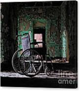 Waiting In The Light Canvas Print