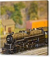 Waiting Model Train  Canvas Print