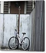 Waiting On A Rider Canvas Print