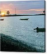 Waitukubuli Sunset Canvas Print