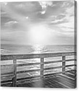 Waking Coast Canvas Print