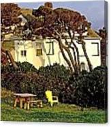 Waldport Beach House Canvas Print