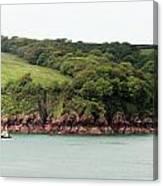 Wales Coastline Panorama Canvas Print