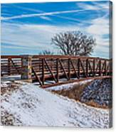 Walk Across Bridge Canvas Print