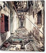 Walk Of Death - Abandoned Asylum Canvas Print