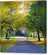 Walk The Way Canvas Print