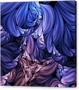Walk Through The Petals Abstract Canvas Print
