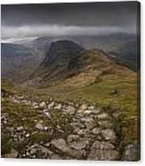 Walk To Hay Stacks Lake District Canvas Print