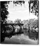 Walking Bridge Canvas Print