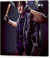 Walking Dead - Daryl Dixon Canvas Print