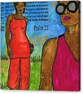 Walking In The Spirit Canvas Print