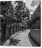 Walkway At Wharton Center Canvas Print