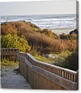 Walkway To The Beach Canvas Print